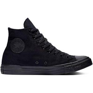 Black High Top Converse (Size 8)